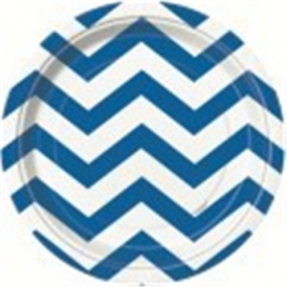Chevron Royal Blue