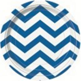 Chevron Royal Blue