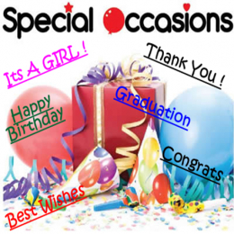 Special Occasion Balloon Gift Delivery