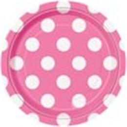 Dots Hot Pink