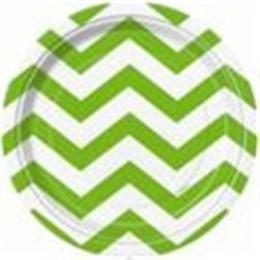 Chevron Lime Green