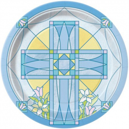 Sacred Cross Blue
