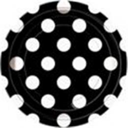 Dots Midnight Black