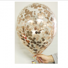 Loose 40cm Confetti Premium Latex Balloon with Helium