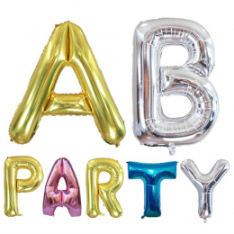Large Letter Foil Balloon ( Uninflated )