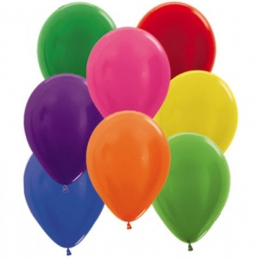 Plain Colour Latex Balloons ( Uninflated )
