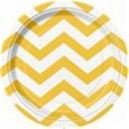 Chevron Sunflower Yellow