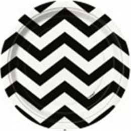 Chevron Midnight Black