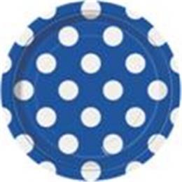 Dots Royal Blue