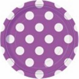 Dots Pretty Purple