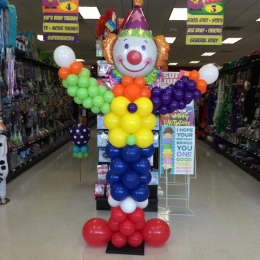 Balloon Column Clown Large