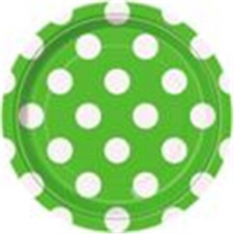 Dots Lime Green